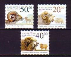 2003 kazakhstan neuf ** n� 348/50 faune : mouflon : b�lier : brebis
