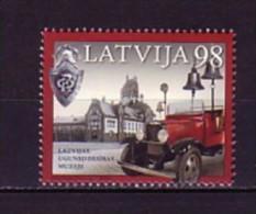 2010 Lettonie Neuf ** N° 759 Camion De Pompier : Cloche : Insigne - Letland