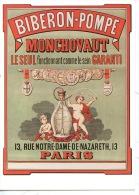 CP Biberon Pompe Monchevaut Fonctionnant Comme Le Sein Auteur Anonyme Illustrateurs Coll Particul!ère Allaitement Enfant - Advertising