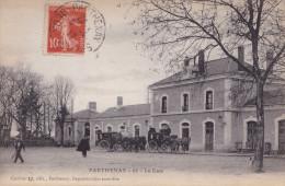 PARTHENAY  LA GARE (dil127) - Gares - Sans Trains
