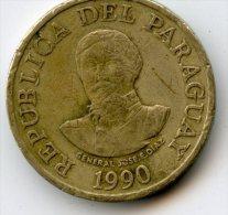Paraguay  100 Guarais 1990 - Paraguay