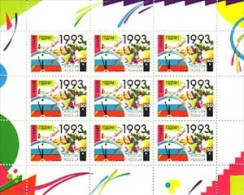 1992 RUSSIE Neuf ** Feuillet N° 5975 Nouvel An : Horloge : Cloche - 1992-.... Federatie