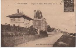 LION SUR MER  DIGUE ET VILLAS VERS RIVA - Frankreich