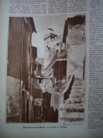 - Article De Presse - Régionalisme - Roquebrune - Cap Martin - Château -1934 - 3 Pages - - Documentos Históricos