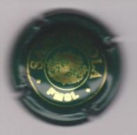 Capsule Mousseux ( SANT'OSOLA , Vert Et Or ) Occasion  - {S-02-15}. - Schaumwein - Sekt