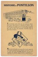 Buvard - Histoire Du Postillon - (vins)