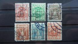 """Polen /Poland """" Porto Briefmarken –Sonder Stempel Ausgabe """" Gestempelt - Postage Due"""