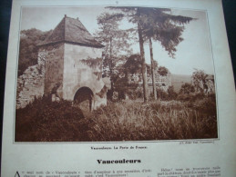 - Article De Presse - Régionalisme - Vaucouleurs - Château De Gombervaux - Montbras - Champougny -1935 - 6 Pages - - Documents Historiques