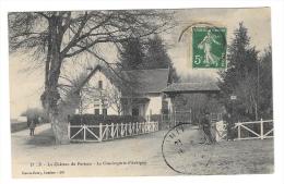 (2154-79) Le Château Du Porteau La Conciergerie D'Aubigny - Non Classés