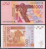 UNC Senegal West African States 1000 Francs 2013 Unc - Niger