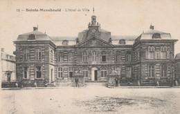 Dép. 51 - SAINTE-MENEHOULD - L'Hôtel De Ville. Animée, écrite. N°12 - Sainte-Menehould