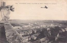 PITHIVIERS    L A  VALLEE DE L OEUF    PASSAGE D UN AEOPLANE - Pithiviers
