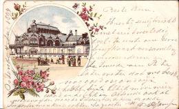 OOSTENDE LITHO  1894 Met Zegel Re596 - Oostende
