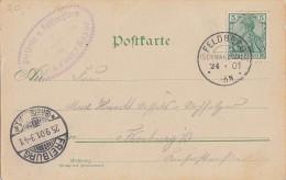 DR AK EF Minr.55 KOS Feldberg (Schwarzwald) 24.9.01 - Deutschland