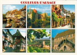 Couleurs D' Alsace - MULTIVUES - COLMAR, THANN, RIQUEWIHR, KATZENTHAL, MULHOUSE, EGUISHEIM - Alsace