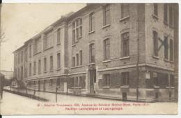 PARIS HOPITAL TROUSSEAU PAVILLON LANNELONGUE ET LARYNGOLOGIE - Francia