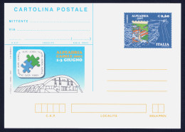 "2007 ITALIA REPUBBLICA ""ALPEADRIA CAORLE 2007"" CARTOLINA POSTALE - Interi Postali"
