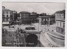 ITALIE - LIVORNO SCALI SAFFI D'AZEGLIO - NON CIRCULÉE - 2 Scans - - Livorno