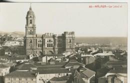 Malaga V. 1934  Catedralle Und Teil-Stadt-Ansicht  (41717+) - Malaga