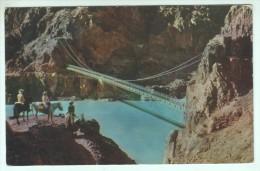 (40) - ARIZ., GRAND CANYON NATIONAL PARK, KAIBAB SUSPENSION BRIDGE