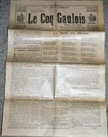 Tres Rare Journal Le Coq Gaulois Du 16 Décembre 1916 - 1914-18