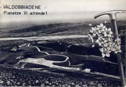 Valdobbiadene - Pianezze Vi Attende - Treviso - Formato Grande Viaggiata Mancante Di Affrancatura - Treviso