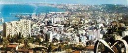 ALGER VUE PANORAMIQUE CARTE PANORAMIQUE - Algiers