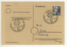 ALLEMAGNE GERMANY DEUTSCHLAND - 1951 - BERLIN Evangelischer Tag Jour Des Evangélistes Evangelist Day - Storia Postale