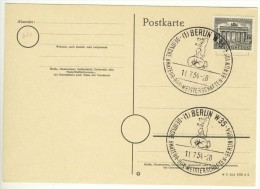 ALLEMAGNE GERMANY DEUTSCHLAND - BERLIN - 1954 - Boxen Boxe Boxing - Berlin (West)