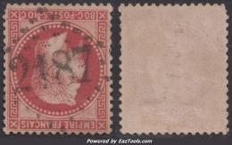 GC 2187 (Manosque, Basses-Alpes (5)), Cote 22.5€  (+30€ Pour Le Timbre) - 1849-1876: Classic Period