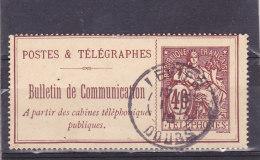Timbre Téléphone De 1900-06  N°  26 - Télégraphes Et Téléphones