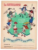 Protège Cahier - La Vittelloise - L´eau Qui Chante Et Qui Danse - Protège-cahiers