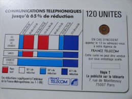 RARE : DÉCALAGE DE COULEUR ET NUMÉROTATION SUR CORDONS BLEU 120U SC3 SANS ENT NR 103606 - France