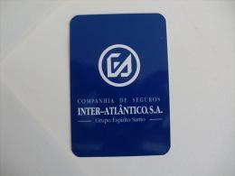 Insurance/ Assurances/ Seguros - Inter Atlântico - Portugal Portuguese Pocket Calendar 1995 - Calendarios