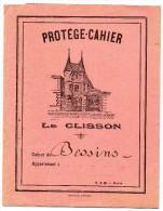 Protège Cahier - Le Clisson - Carte De La France Au Dos - Protège-cahiers
