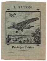 Protège Cahier - L'Avion - Protège-cahiers
