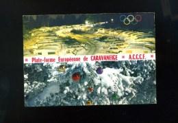 38-CHAMROUSSE/ROCHE BERANGER..PLATEFORME EUROPEENNE DE CARAVANEIGE DE L'A.C.C.C.F.. Jeux Olympiques - Chamrousse