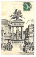 Cp, 63, Clermont-Ferrand, Vercingétorix, Voyagée 1909 - Clermont Ferrand