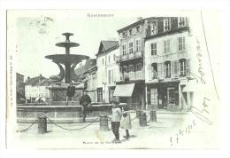 Cp, 88, Remiremont, Place De La Courtine, Voyagée 1902 - Remiremont