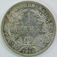 1 Mark 1914 A Deutsches Reich  / Good Condition ! - [ 2] 1871-1918: Deutsches Kaiserreich