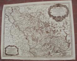 Carte Ancienne Le Duché De Berg, Le Comté De Homberg, Les Seigneuries De Hardeng - Mapas Geográficas