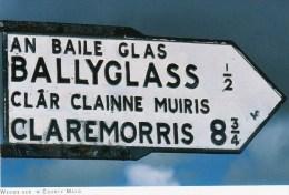 Postcard - Signpost in County Mayo, Mayo. 2014