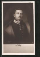 CPA Porträt Kaiser Karl I. Von Österreich In Uniform - Familles Royales