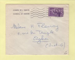 Conseil De L´Europe - 24-9-1962 - Strasbourg - Council Of Europe - Postmark Collection (Covers)