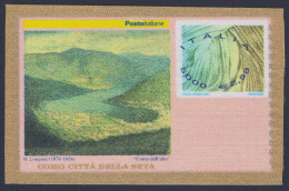 "2001 ITALIA REPUBBLICA ""INDUSTRIA SERICA ITALIANA"" FRANCOBUSTA - 6. 1946-.. Repubblica"