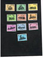 SAN MARINO - UNIF. 672.681  -  1964 STORIA DELLA LOCOMOTIVA  - NUOVI ** - San Marino