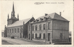 CPSM - SUGNY: Maison Communale, Grand Rue.. (4099) - Belgique
