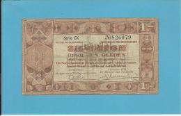 NETHERLANDS -  ZILVERBONNEN - 1 GULDEN - 01.10.1938 - Pick 61 - Queen Wilhelmina - 2 Scans - [2] 1815-… : Koninkrijk Der Verenigde Nederlanden