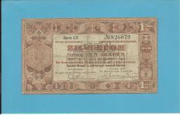 NETHERLANDS -  ZILVERBONNEN - 1 GULDEN - 01.10.1938 - Pick 61 - Queen Wilhelmina - 2 Scans - [2] 1815-… : Kingdom Of The Netherlands