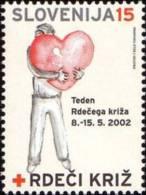 Slovenia 2002 - Red Cross (15 SIT)   MNH Michel Z26 - Slovenia